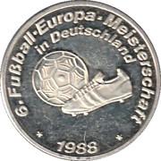 Token - UEFA Euro 1988 – obverse