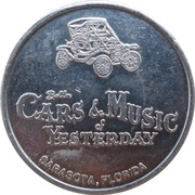 Token - Bellm Cars & Music of Yesterday (Sarasota, Florida) – obverse