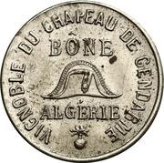 50 Centimes - Bône Chamber of Commerce - Vignoble du Chapeau de Gendarme – obverse