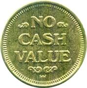 Carwash Token (No Cash Value; HH; 25 mm) – reverse