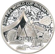 Token - 2018 FIFA World Cup (Sochi) – obverse