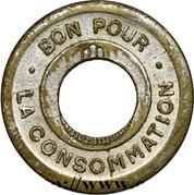 Token - Bon pour la consommation - Reig (Alger; holed) – reverse