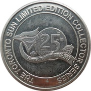 Token - The Toronto Sun Limited Edition Collector Series (George Bell) – obverse