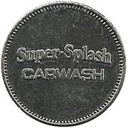 Carwash Token - Super-Splash – obverse