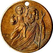 Medallion - St. Christopher – obverse