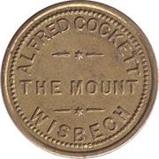 3 Pence  - Alfred Cockett (Wisbech) – obverse
