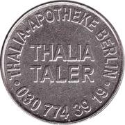 Thalia Taler - Thalia Apotheke (Berlin) – reverse
