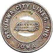 1 Fare - Ottumwa City Lines, Inc. (Ottumwa, Iowa) – obverse