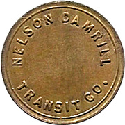 1 Childs Fare - Nelson Damrill Transit Co. (Pittsburg, Kansas) – obverse