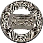 1 Fare - Salina Transit Co. (Salina, Kansas) – obverse