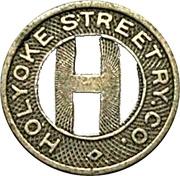 1 Fare - Holyoke Street Ry. Co. (Holyoke, Massachusetts) – obverse