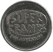 Token - Super Frank's – obverse