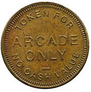 Token - For Arcade Only – obverse