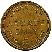 Token - For Arcade Only – reverse