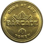 Token - Barcade – obverse