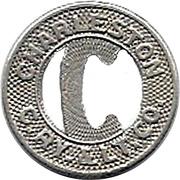 1 Fare - Charleston C. Ry. & Lt. Co. (Charleston, South Carolina) – obverse