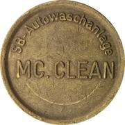 Car Wash Token - Mc Clean – obverse