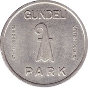 Parking Token - Gundeli Park – obverse