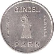 Parking Token - Gundeli Park – reverse