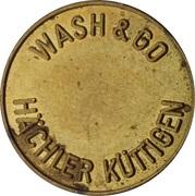 Car Wash Token - Hächler (Küttigen) – obverse