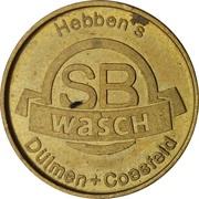 Car Wash Token - SB Wasch Hebben's (Dülmen, Coesfeld) – obverse