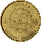 Car Wash Token - SB Wasch Hebben's (Dülmen, Coesfeld) – reverse