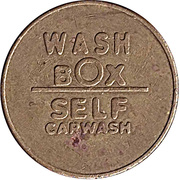 Car Wash Token - Wash Box – obverse