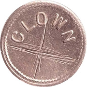 1 Penny - Clown – obverse