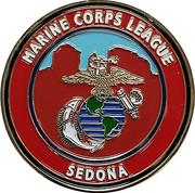 Token - Marine Corps League (Sedona) – obverse