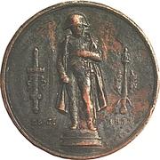 Medallion - Restoration of the Statue of Napoleon I on the column of Austerlitz – obverse