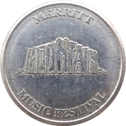 1 Dollar - Mountain Buck (Merritt Music Festival) – obverse