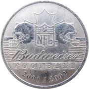 Token - Budweiser 2001/2002 (Football) – obverse