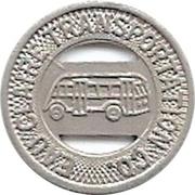 1 City Fare - Eau Claire Transportation Co. (Eau Claire, Wisconsin) – obverse