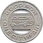 1 City Fare - Eau Claire Transportation Co. (Eau Claire, Wisconsin) – reverse