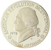 American Revolution Bicentennial - Jefferson – obverse