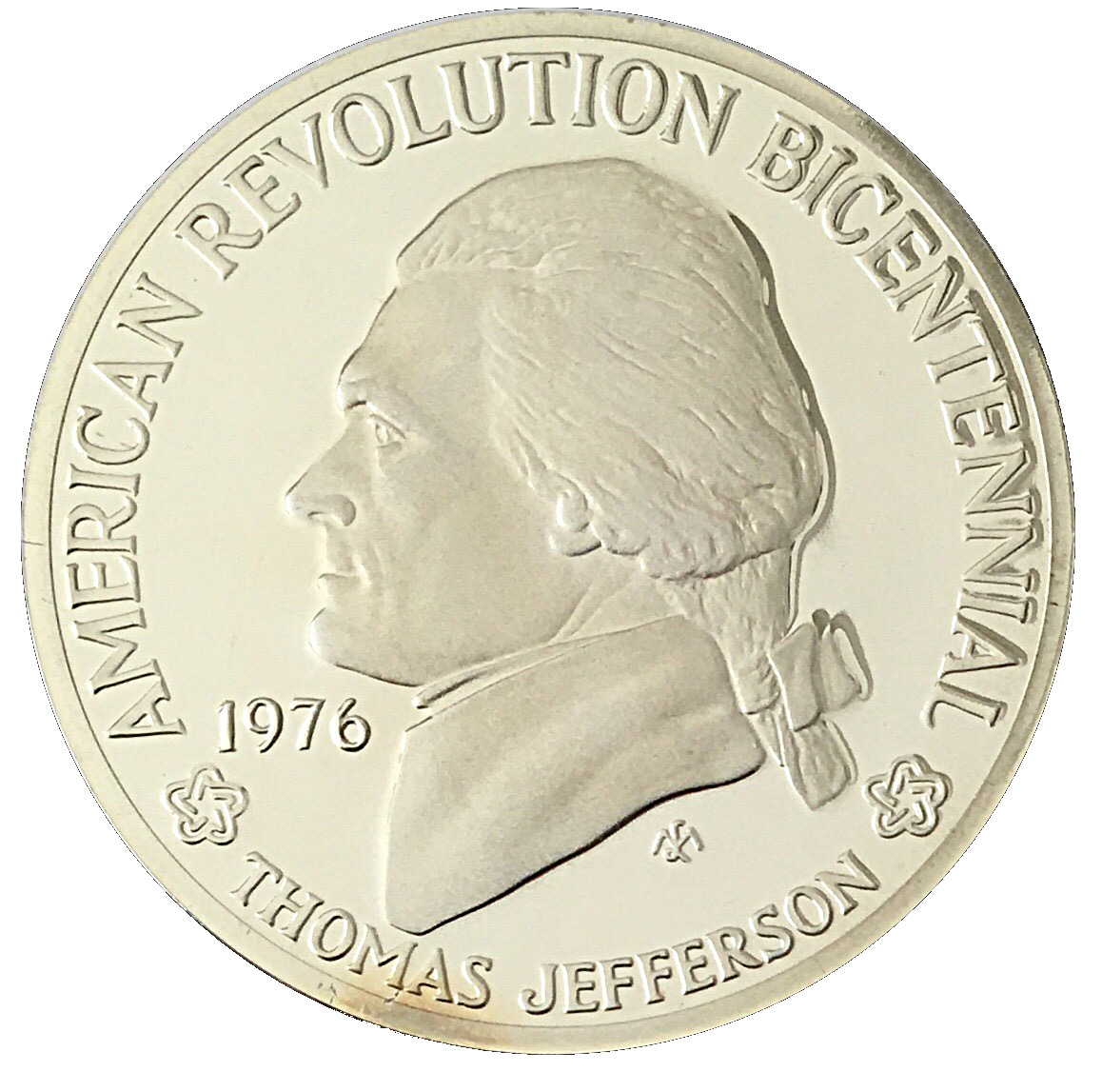 .925 Silver 1976 Thomas Jefferson American Revolution Coins