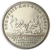 Restrike - Menus plaisirs 1705 Louis XIV – obverse