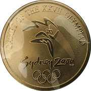 Medallion - Sydney Olympics Athletics – obverse