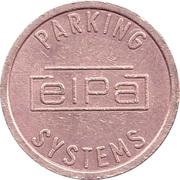 Parking Token - ELPA Parking Systems – obverse