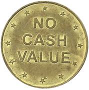 25 Cents Token (No Cash Value) – reverse
