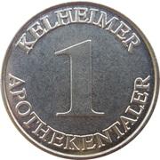 1 Kelheimer Apotheketaler - Staren Apotheke & Centro Apotheke (Kelheim) – reverse