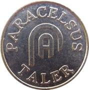 Paracelsus Taler - Paracelsus Apotheke (Parsberg) – reverse