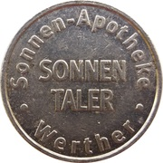 Sonnen Taler - Sonnen-Apotheke (Werther) – reverse