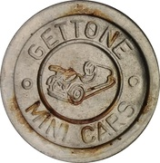 Token - Gettone Mini Cars – obverse