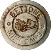 Token - Gettone Mini Cars – reverse