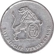 Token - Bayerische Vereinsbank (Freising) – reverse