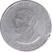 7 ½ Pence- Eugen Sandow – obverse