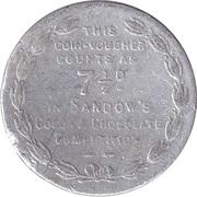 7 ½ Pence- Eugen Sandow – reverse