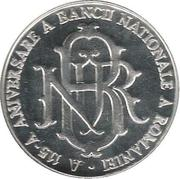A 115-A ANIVERSARE A BANCII NATIONALE A ROMANIEI – reverse