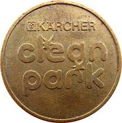 Car Wash Token - Kärcher Clean Park (Eching) – reverse
